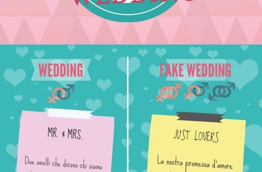 Fake wedding: matrimonio senza impegni