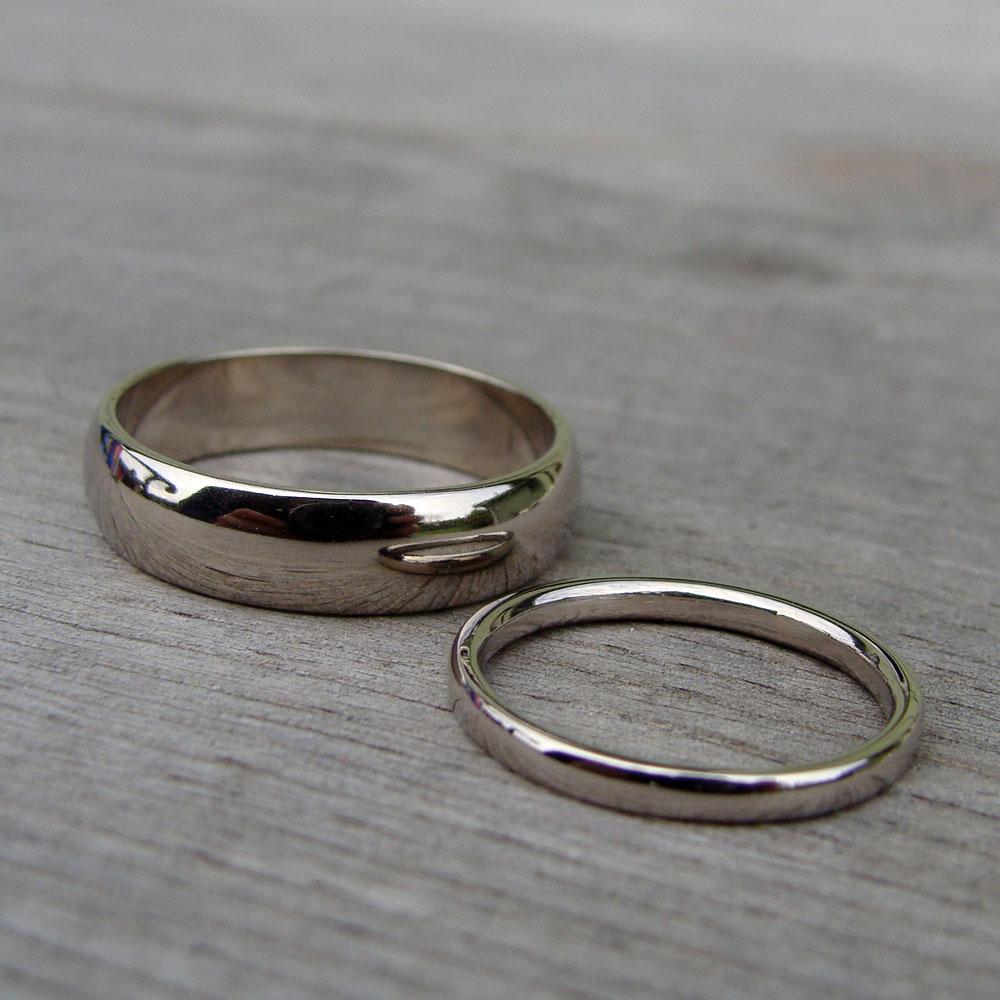 un po' meglio nel vasto e multiforme mondo degli anelli nuziali ...